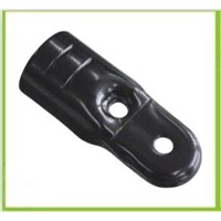 black electrophoresis metal joint bracket for pipe rack system JY-6