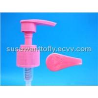 colorful plastic lotion pump