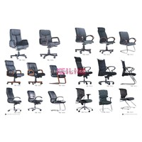 mesh and fabric office chair