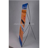 roll up banner, pull up banner, roller banner with aluminum stand