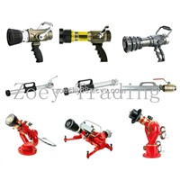 spray/jet nozzle, fire hose reel nozzle, fire fighting water systems,fixed fire fighting monitor