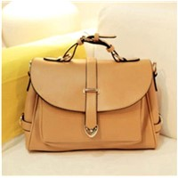 Hot Korean Version of the New Big Retro Handbags Shoulder Bag Portable Handbags