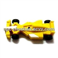 Free Shipping Rubber Racing Car USB Pendrive