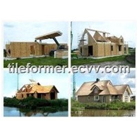 Prefabricated house -- Sips Houses(Structure Insulated Panel house)