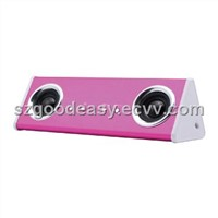 1028 pink mini speaker with lovely style