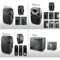 """12"""" 15"""" plastic Speaker box PP-2112 2115 2415 & 15"""" 18"""" subwoofer 24115"""