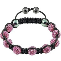 2012 New High Quality Shamballa Bracelet With Crystal Disco Ball 2008007