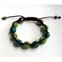 2012 New High Quality Shamballa Bracelet With Crystal Disco Ball 2008008