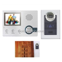 3.5inch Wireless Video Door Phone + Record+ Alarm Function+ Rainproof