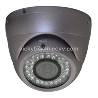 4-9mm external lens dome CCTV camera