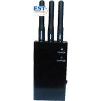 808HE Portable cell phone signal jammer/blocker