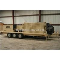 ABM MOBILE FACTORIES,K SPAN FACTORY FOR STEEL BUILDING,M.I.C. ABM 120/240 k span
