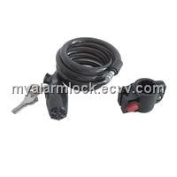 Bike Alarm Cable Lock, Alarm Wire Lock
