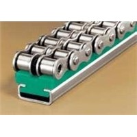 Chain guides for roller chains (TYPE CT-DUPLEX)