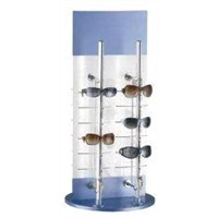 Custom Acrylic Display Holders Sun Glasses Rack with Spinning Base