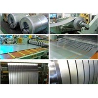 Cutting SGCH (Full hard) Hot Dip Galvanized Steel Strip for Constructual Purlins