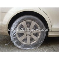 Disposable PE Tyre Cover