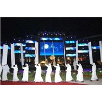 Electronic Full Color SMD Indoor Led Screens 220V/50Hz P4.75 IP45 1R1G1B