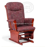 Feeding Glider Chair with ottoman