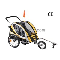 Golden Color Baby Bike Trailer(Cheapest model)