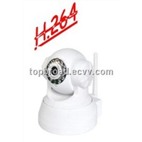 H.264 PTZ IP Video Camera CCTV Wireless Alarm System support SD card TB-H002BW)