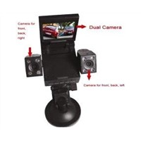 High Definition Wide-Angle Lens 2.0inch TFT Scree Car DVR Dual Camera