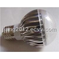 High quality,E27 4W 4x1w Nature white led bulb light,3800k-4200k,Double Gold Line led