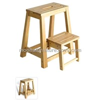 Home furniture, solid wood step stool
