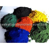 Iron oxide red/ black/ yellow/ green/ blue
