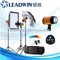 LW-FLK18 LEADWIN studio flash lighting kit