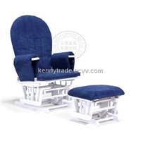 Leisure Glider Chair with ottoman