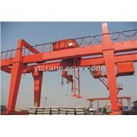 MG (A) Type Double Main Girders Gantry Crane with Hook