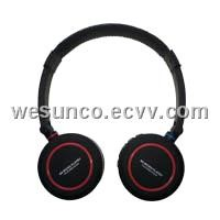 Micro SD card mp3 headset(SD-880 Black)