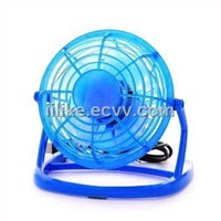 Mini USB Fan with ABS Frame, 5V DC Voltage, Various Colors are Available