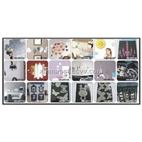 Mirror stickers/ wall mirror decoration/ wall home decorative wall mirror sticker