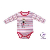 OEM Kids Pure Cotton Stripe Baby Romper Summer Suits Clothes in Fall