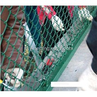 PVC coated chain link fence (HT)