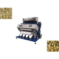 Pine Nut ISO9001 CCD Color Sorter Equipment 220V / 50HZ With High Resolution Lens