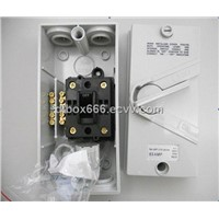 Plastic Weather protected Isolating Switch