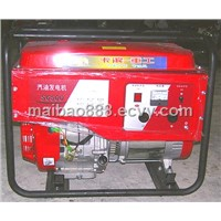 Portable Gasoline Generator with Electrical Start