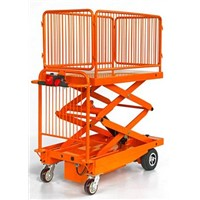 Power Cart with Double Scissor Lift (JH-117)