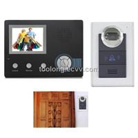 Rainproof Wireless Video Door Intercom + Record+ Anti-Thief