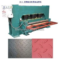 Roll Embossing Machine,Roll Embossed forming Machine,Sheet Metal Embossing Line