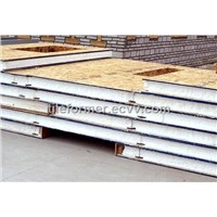 SIP panel (structural insulated panel)