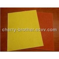 Silicon carbide paper sheet