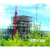 Steel Frame for India 6*600mw Power Plant, 24, 000 Tons