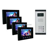 Touch screen Color Video Door Intercom system