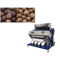 Walnut CCD Color Sorting Machine Abrasion Resistance 600 - 2000LM