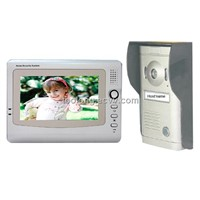 Wire Video Door Phone with Memory