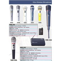 Wire-Wireless Microphone